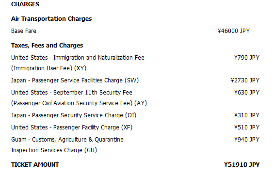 delta charges